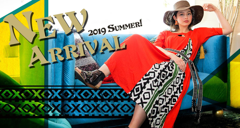 エスニック ファッション 夏 新作 SUMMER