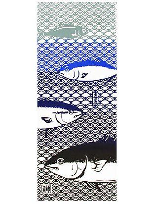 出世魚手拭 商品名 : 出世魚手拭 販売品番 : 8MMP001606 カラー :...  『倭