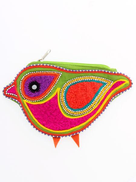 コトリ刺繍パース