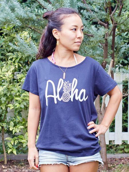アロハパインTシャツ
