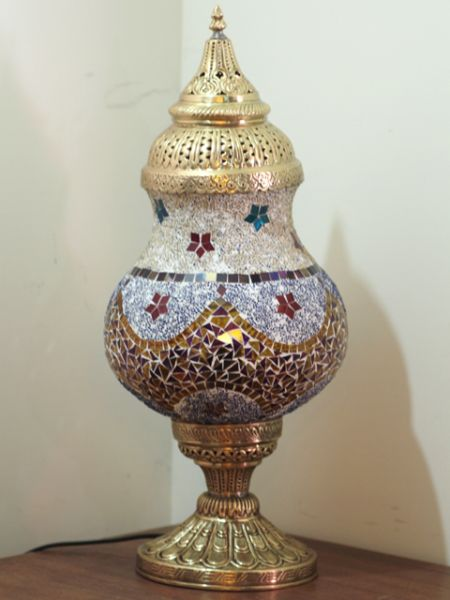 MOSAIC STAND LAMP