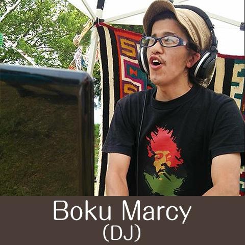 キャンプ 出演アーティスト 『Boku Marcy DJ』