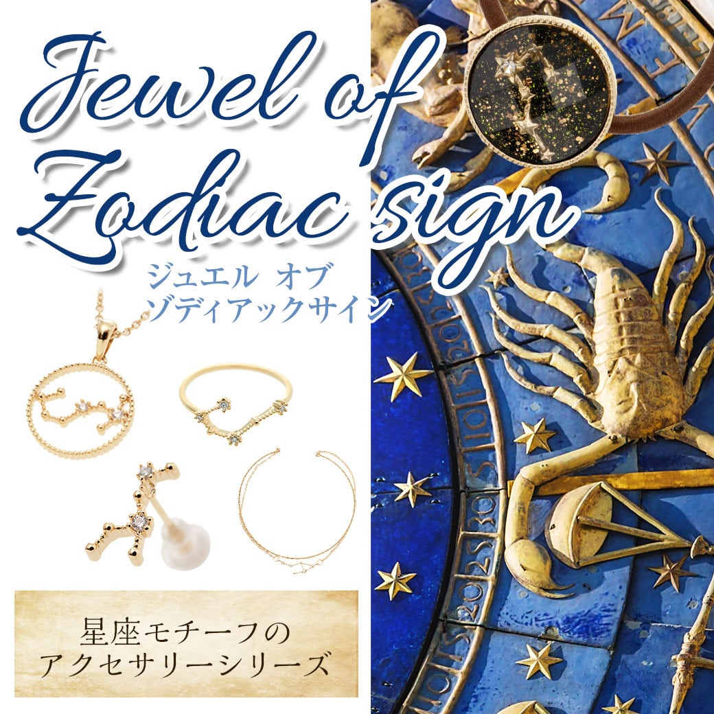 Jewel of Zodiacsig 星座 アクセ