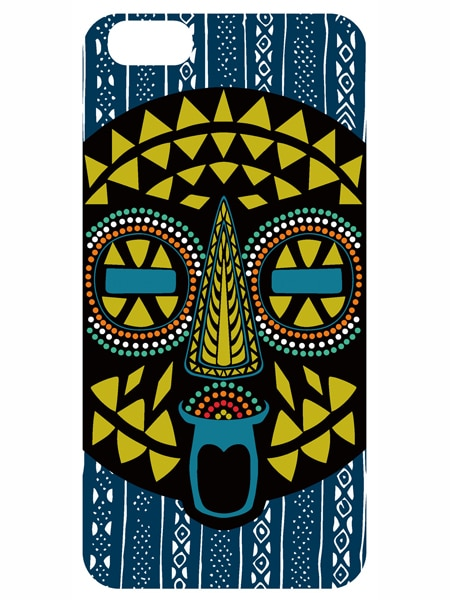 23.AFRICAN MASK(iPhone 6 Plus)